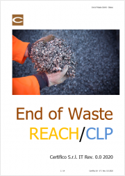 End of Waste e REACH / CLP