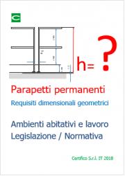 Parapetti permanenti | Requisiti dimensionali geometrici