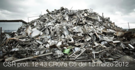 CSR prot. 12 43 CR07a C5 del 15 marzo 2012