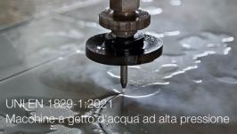 UNI EN 1829-1:2021 | Macchine a getto d'acqua ad alta pressione