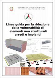 Linee guida riduzione vulnerabilità elementi non strutturali arredi e impianti