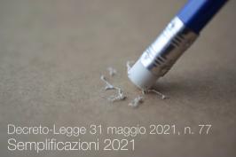 Decreto-Legge 31 maggio 2021, n. 77