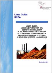 Linea guida emissioni impianti di produzione energia elettrica