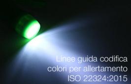 UNI ISO 22324:2019   Linee guida codifica colori per allertamento