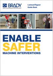 Lockout/Tagout guide book Safer machine interventions