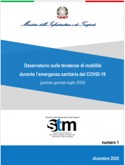Osservatorio tendenze di mobilità durante l'emergenza sanitaria COVID-19