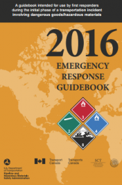 Emergency Response Guidebook 2016