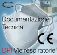 Documentazione tecnica DPI Vie respiratorie