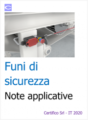 Funi di sicurezza: norme e note applicative