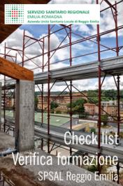 Check list verifica attività formative AUSL Reggio Emilia