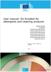 User Manual EU ecolabel for detergents and cleaning products