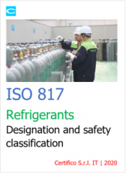 ISO 817 Refrigerants - Designation and safety classification