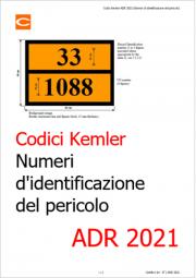 ADR 2021: Aggiornamento Kemler