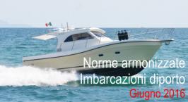 Norme armonizzate Direttiva Imbarcazioni diporto Giugno 2016