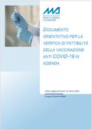 ANMA | Criteri per la fattibilità delle vaccinazioni in azienda