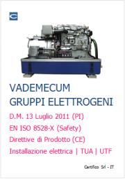 Vademecum Gruppi elettrogeni