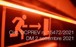 Circolare DCPREV n. 15472 del 19 Ottobre 2021