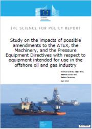 ATEX, Machinery Directive, PED: Study possible amendments in offshore oil and gas industry