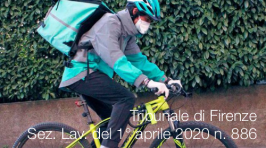 Tribunale di Firenze Sez. Lav. del 1° aprile 2020 n. 886