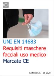 UNI EN 14683 | Requisiti maschere facciali uso medico Marcate CE