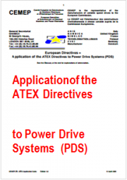 Application of the ATEX Directives to Power Drive Systems (PDS)