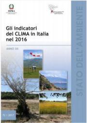 Gli indicatori del clima in Italia nel 2016