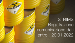 STRIMS - Registrazione e comunicazione dati entro il 20.01.2022