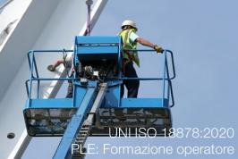 UNI ISO 18878:2020   PLE: Formazione operatore