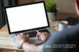 Decreto Direttoriale MLPS n.9 del 20/01/2021