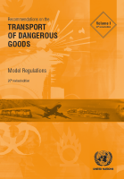 Recommendations on the Transport of Dangerous Goods - Model Regulations (Rev. 20)