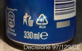 Decisione 97/129/CE