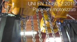 UNI EN 14492-2:2019 | Paranchi motorizzati