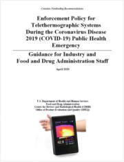 FDA: Linee guida per l'uso della termografia durante l'emergenza COVID-19