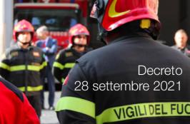 Decreto 28 settembre 2021