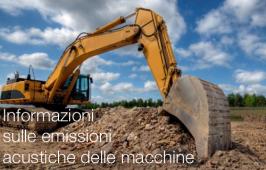 UNI: Redazione informazioni emissioni acustiche macchine