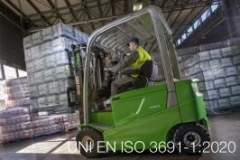 UNI EN ISO 3691-1:2020 | Carrelli industriali