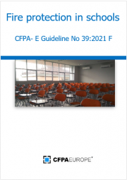Guidelines fire protection in schools
