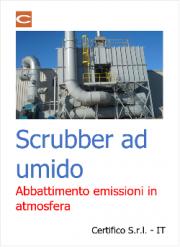 Scrubber ad umido: abbattimento emissioni in atmosfera