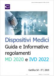 Dispositivi medici: Guida e Informative regolamenti MD 2020 e IVD 2022