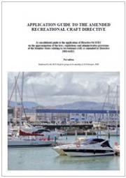 Application guide to the amended recreational craft directive