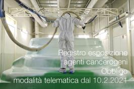 Registri esposizione agenti cancerogeni/mutageni/agenti biologici | Obbligo invio telematico