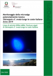 Monitoraggio della microalga potenzialmente tossica Ostreopsis | 2019