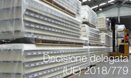 Decisione delegata (UE) 2018/779