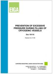 Prevention of Excessive Pressure during Filling of Cryogenic Vessels