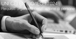 UNI CEI EN ISO/IEC 17024