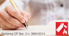 Sentenza CP Sez. 3 n. 3684 del 28 gennaio 2014