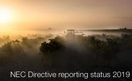 NEC Directive reporting status 2019