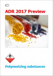 ADR 2017 Preview: Sostanze soggette a polimerizzazione