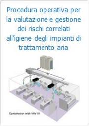Procedura operativa per la valutazione e gestione dei rischi correlati all'igiene degli impianti di trattamento aria