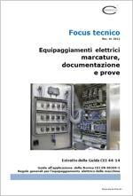 Focus Equip. elettrici: marcature, documentazione, prove